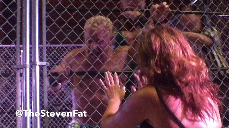 WrestlePro vs GFW - Pat Buck vs Jeff Jarrett (Steel Cage Match)