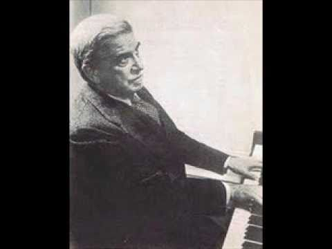 Artur Schnabel plays Schubert Sonata in B flat Major D 960 (1/3)
