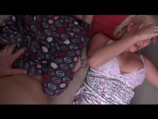 Family Therapy Natasha Nice, Vanessa Cage - Family Sleepover