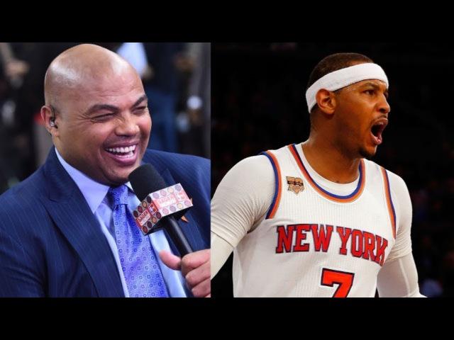 Charles Barkley on Carmelo Anthony Trade to Oklahoma City Thunder 2017 18 NBA Season