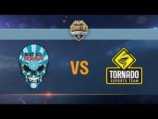 Tornado Energy vs Not So Serious - day 2 week 1 Season II Gold Series WGL RU 2016/17