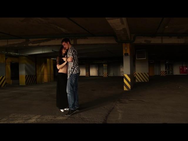 An Na Vyatkina Dmitry Dance Improvisation in the Parking
