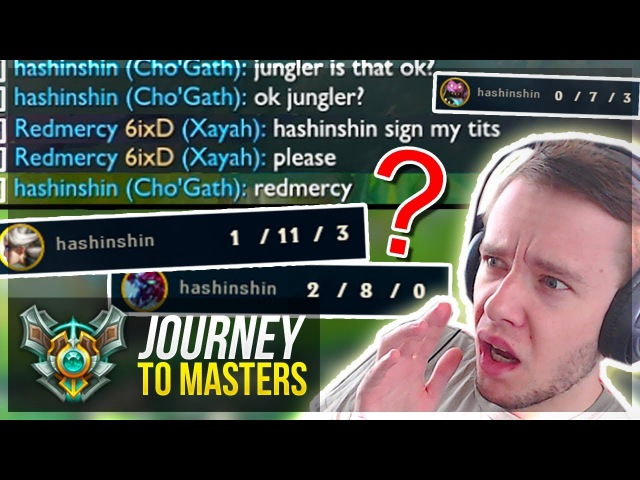 TILT THE MOST TOXIC PLAYER FOR ELO!! GIVE ME MASTERS - Journey To Masters | League of Legends