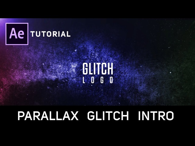 After Effects Tutorial Epic Glitch Intro in After Effects No Plugins Required