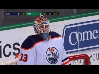 Tyler Seguin taps in pass from Alex Radulov vs Oilers (2018)