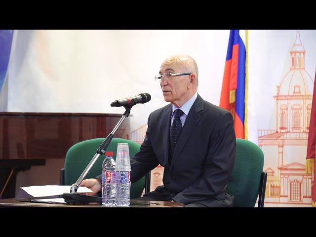 Встреча с легендарным следователем Амурханом Яндиевым