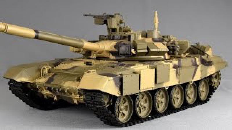 Heng Long Rc Panzer T 90 T90 1 16 UNBOXING Ausgepackt
