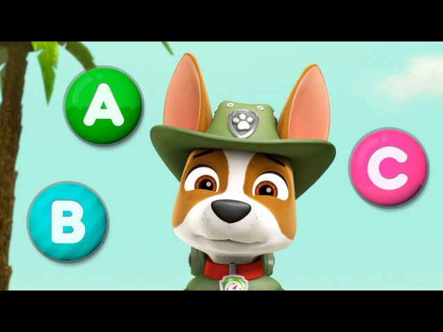 ABC. PAW Patrol teach letters. GamePlay.