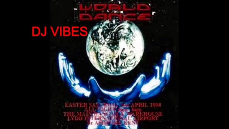 Dj Vibes @ World Dance @ Lydd Airport 2nd April 1994