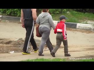 Big booty mom walking | PAWG