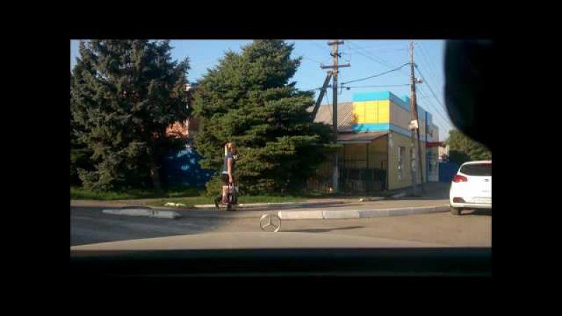 Матвеев Курган утренний Час пик * Matveyev Kurgan morning Rush hour