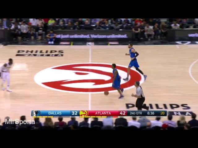 Atlanta vs Dallas Баскетбол. НБА. Атланта Хокс - Даллас Маверикс 01.03.2017
