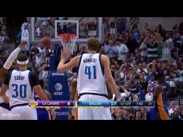 Dallas 122-111 Los Angeles Lakers Баскетбол. НБА. Даллас Маверикс - Лос Анджелес Лейкерс 08.03.2017
