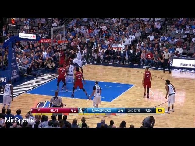 Dallas vs Miami Баскетбол. НБА. Даллас Маверикс - Майами Хит 27.02.2017