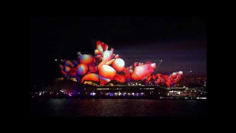 Sydney VIVID Light 2017 Opera House Full HD 50fps