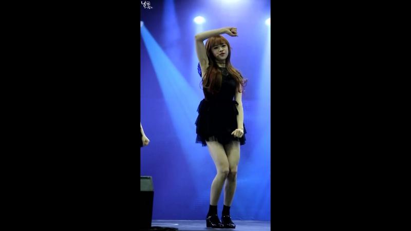 160104 Infinity Challenge Expo| OH MY GIRL - Cupid [Jine focus]