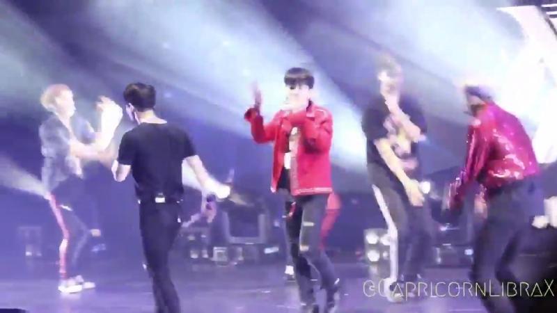 [VK][170908] MONSTA X Fancam - 'Rush' @ 'THE 1ST WORLD TOUR' Beautiful in Taipei