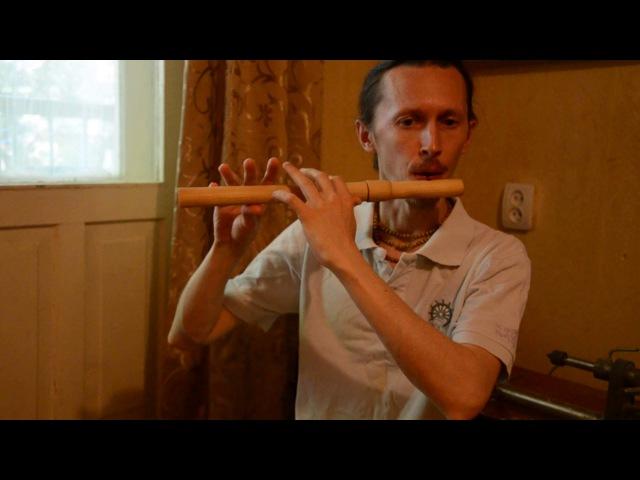 Estampie V on Medieval Flute