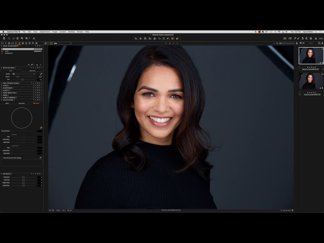 Capture One - Fixing Red skin tones in Canon RAW Files