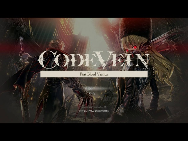 Code Vein   20 минут игры на PS4 / Raw PS4 Gameplay Walkthrough - Direct Feed