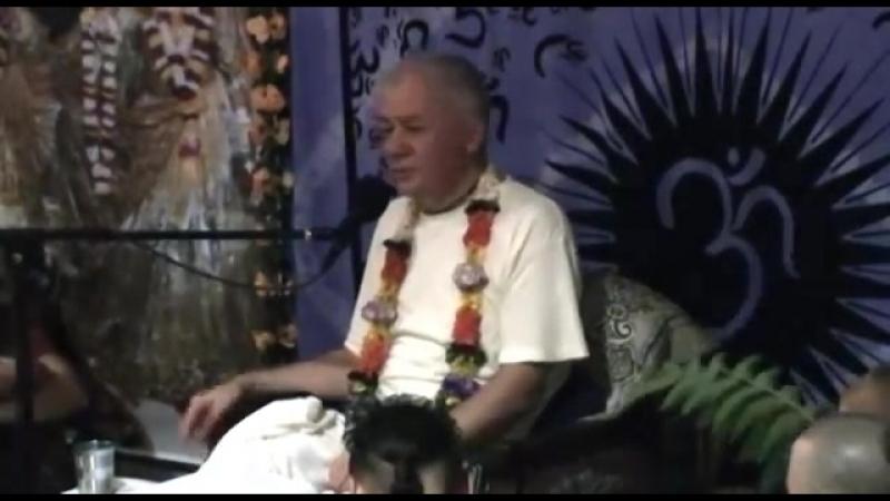 2012.09.13, ретрит, день четвертый - Чайтанья Чандра Чаран Прабху