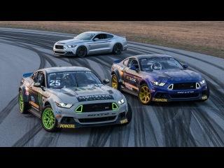 2017 RTR Motorsports Formula Drift Team: Vaughn Gittin Jr + Chelsea DeNofa
