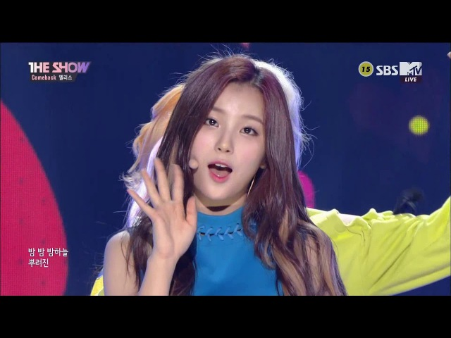 《60FPS》170919 ELRIS (엘리스) - Pow Pow (파우파우) @ 더쇼 The Show Comeback Stage [1080p]