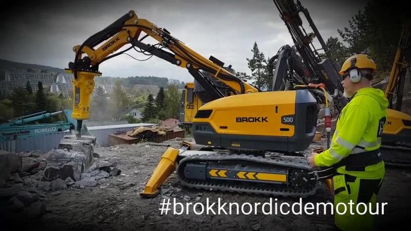 The Brokk Nordic Demotour