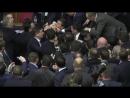 A fight in Rada with Yatsenyuk 11.12.2015