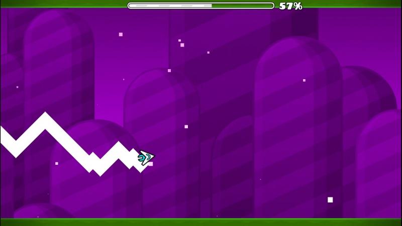Бета версия моего уровня в Geometry Dash 2.1(Beta version my level is Geometry Dash 2.1)