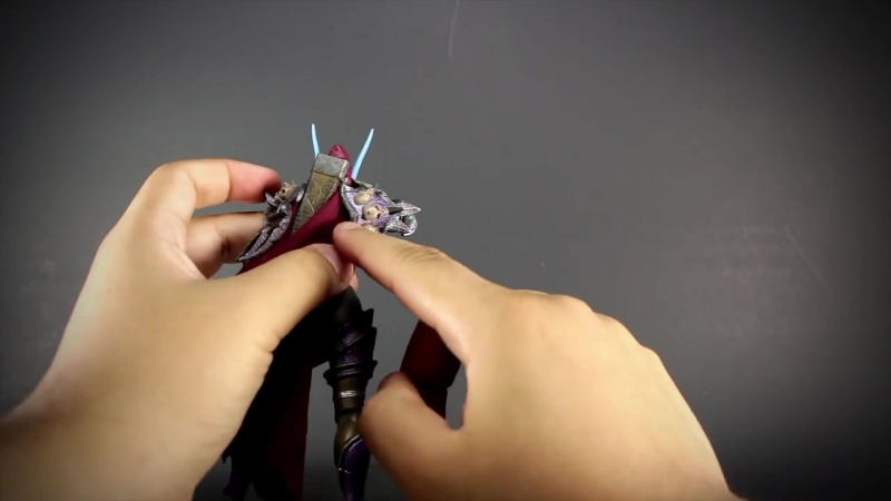 Warcraft Sylvanas - Heroes of the Storm Action Figure Review From NECA