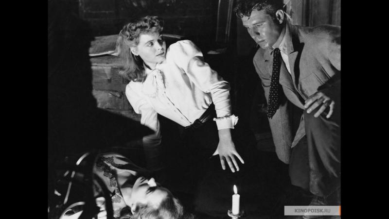 ВИНТОВАЯ ЛЕСТНИЦА (1945) - нуар, триллер, детектив. Роберт Сьодмак
