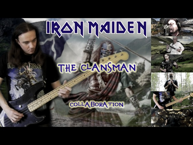 Iron Maiden The Clansman full cover collaboration