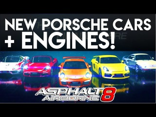 New Porsche cars and their Engines!