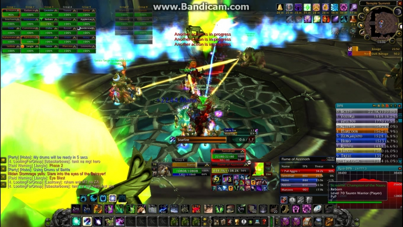 Hellground Balance Druid vs Illidan part 1