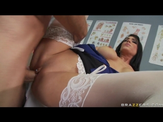 Jessica tease naughty in doctoress uniform