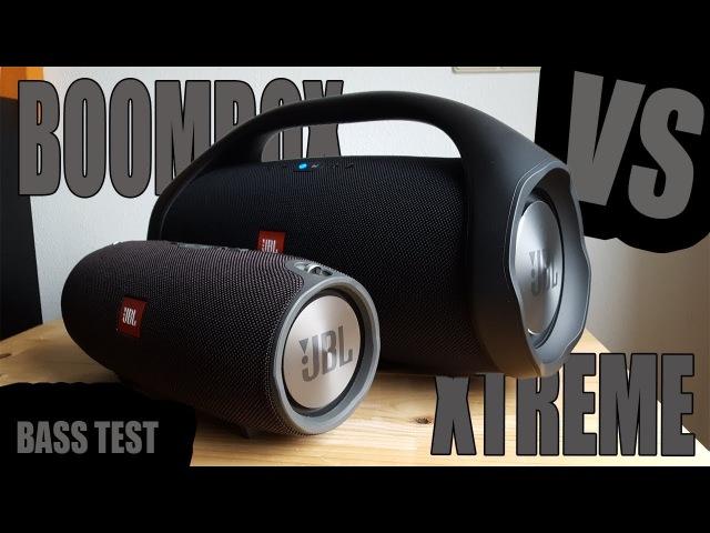 JBL BOOMBOX VS JBL XTREME