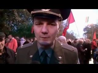 Русский офицер выглядит так, а не как плешивая мразь, окопавшаяся в Кремле, и послушные псы этой мра