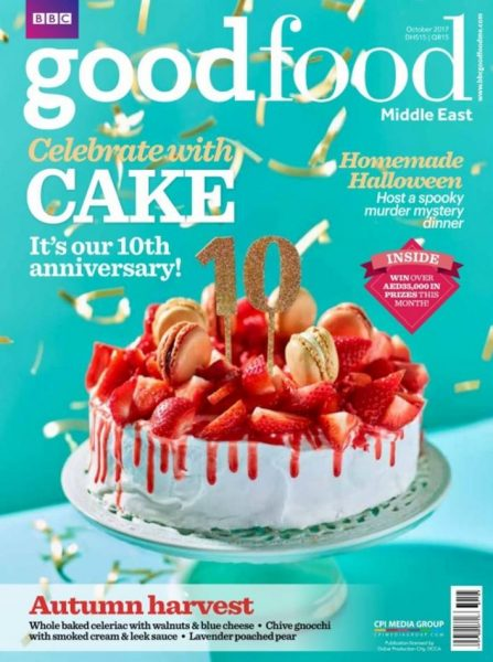 BBC Good Food Middle East October 2017