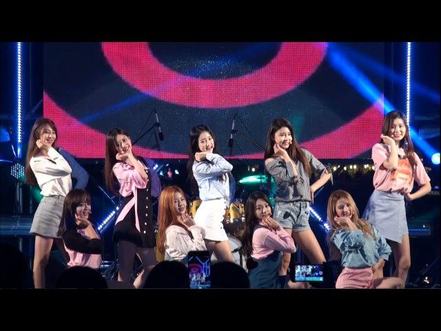 [2017.09.22] 구구단 (gugudan) 나 같은 애 (A Girl Like Me) 직캠 [FULL HD Fancam] (장수한우랑사과랑축제)