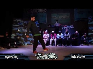 1/4 Hip-Hop | Ruster vs Swipemind | Time4Battle Vol.3