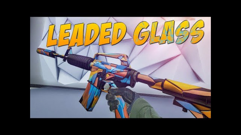 CS:GO - M4A1-S   Leaded Glass Gameplay