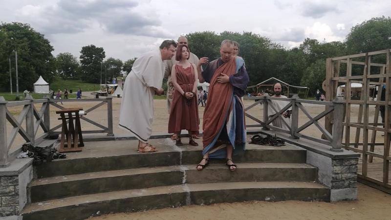 Римский невольничий рынок 2