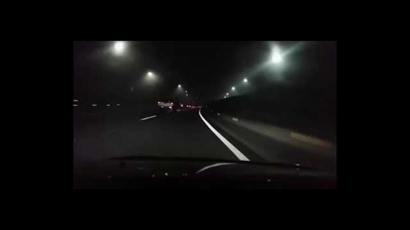 [Evo 7 / impreza STi / GTR 35 / A45 AMG] зацепились на трассе ночью