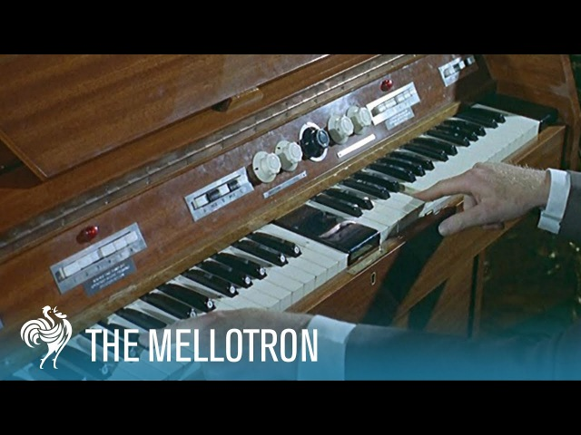 The Mellotron A Keyboard with the Power of an Orchestra 1965 British Pathé