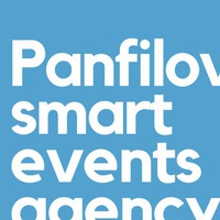 """Логотип """"Panfilov events"""" official page"""