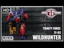 TFC Toys Trinity Force TF 03 WILDHUNTER Transformers Victory Blacker ROAD CAESAR