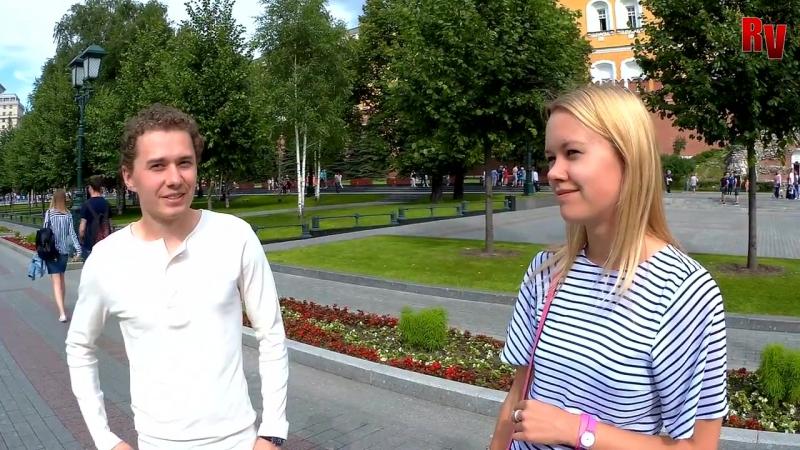 США и РОССИЯ _ Американские и русские студенты о национальной гордости. Опрос
