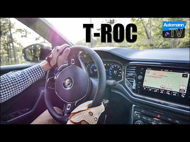 2018 VW T-Roc Sport (190hp) - Handling DRIVE (60FPS)