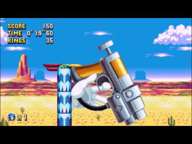 Sonic Mania (PC) - Mirage Saloon 2 Sonic: 37
